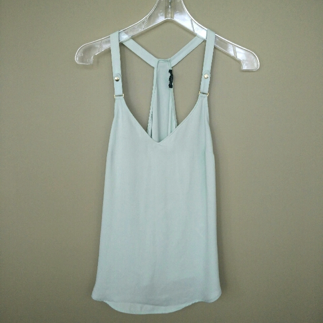 Dynamite Mint Green Tank Top