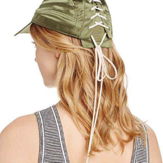 ‼️限時優惠‼️FENTY PUMA LACE-UP CAP 綁帶 帽子 綁帶帽