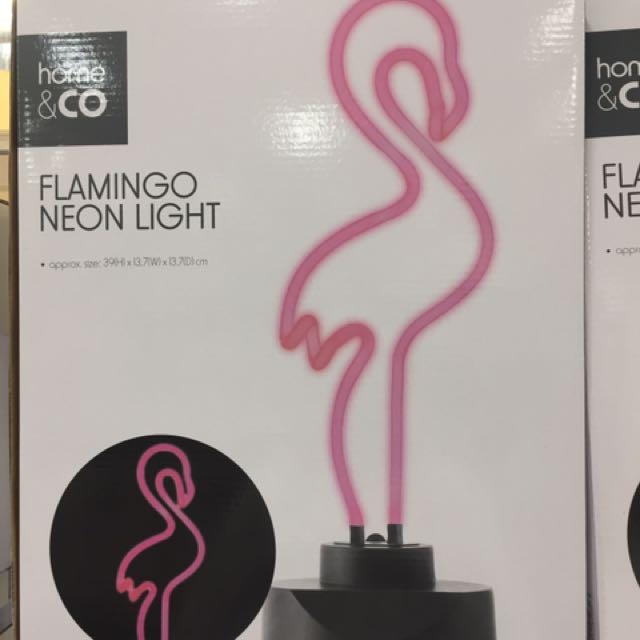 Flaminggo Neon Lights