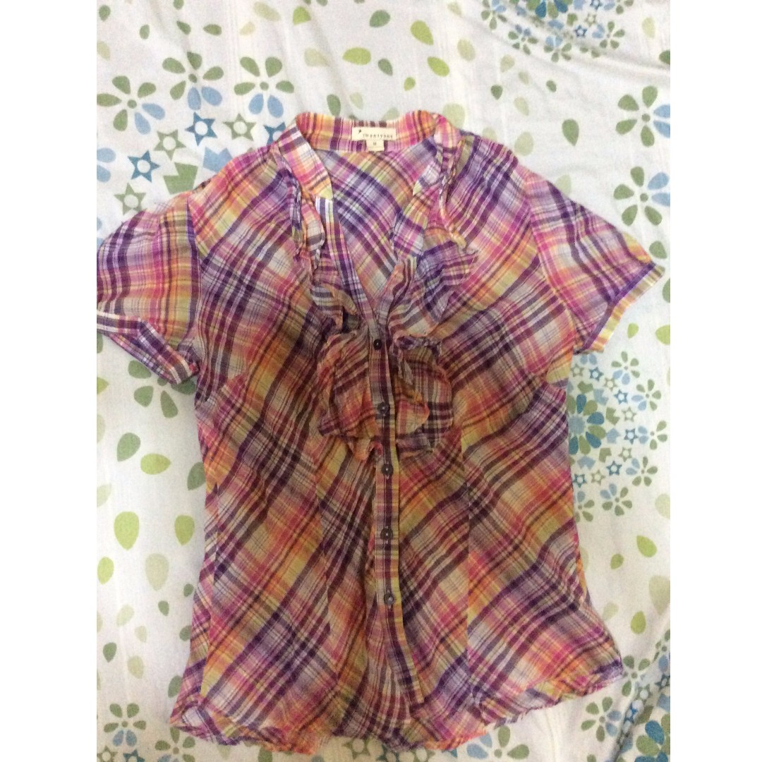 Forever 21 Polo Blouse