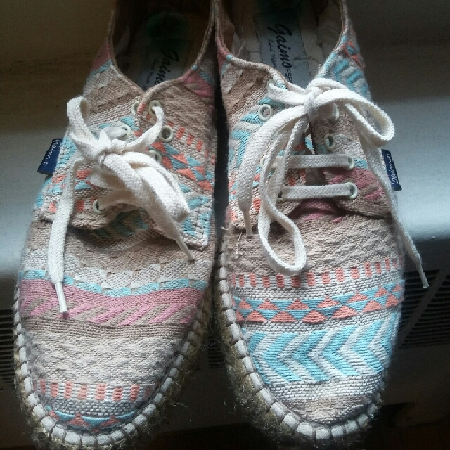 Gaimo Colourful Wedges Size 8