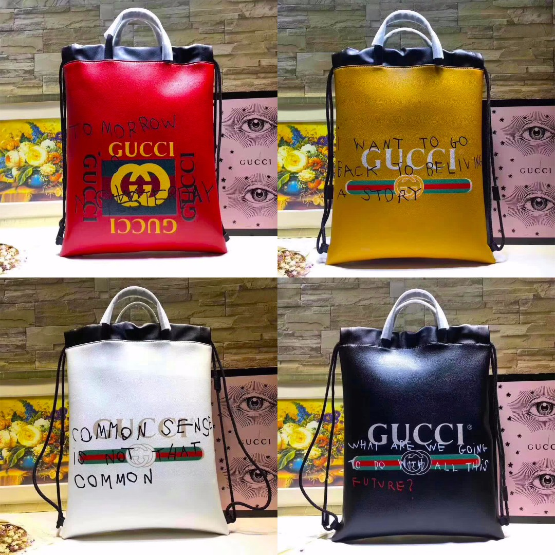 e1d9d7749f7917 Gucci Coco Capitán Logo Backpack, Luxury, Bags & Wallets on Carousell