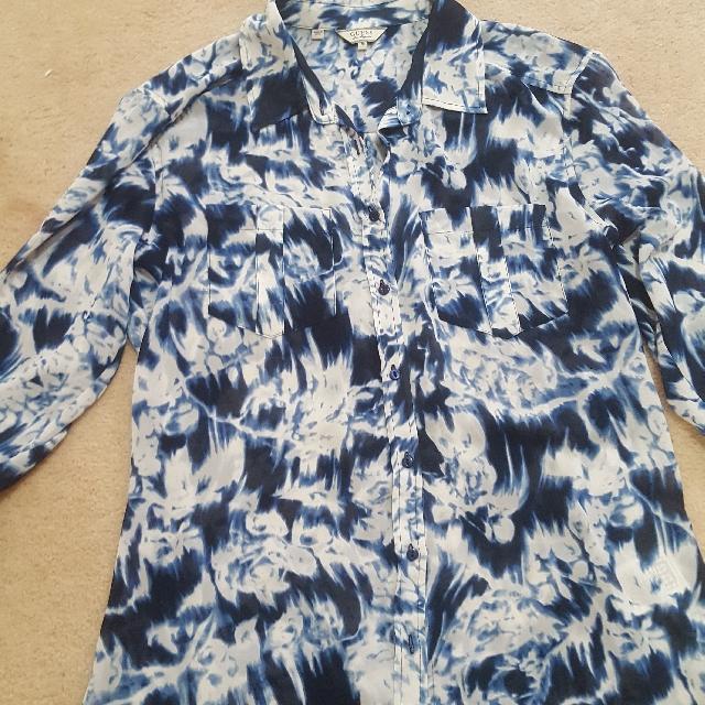 Guess Blue Shirt