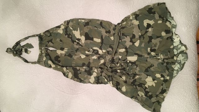 Guess Camouflage Halter Romper