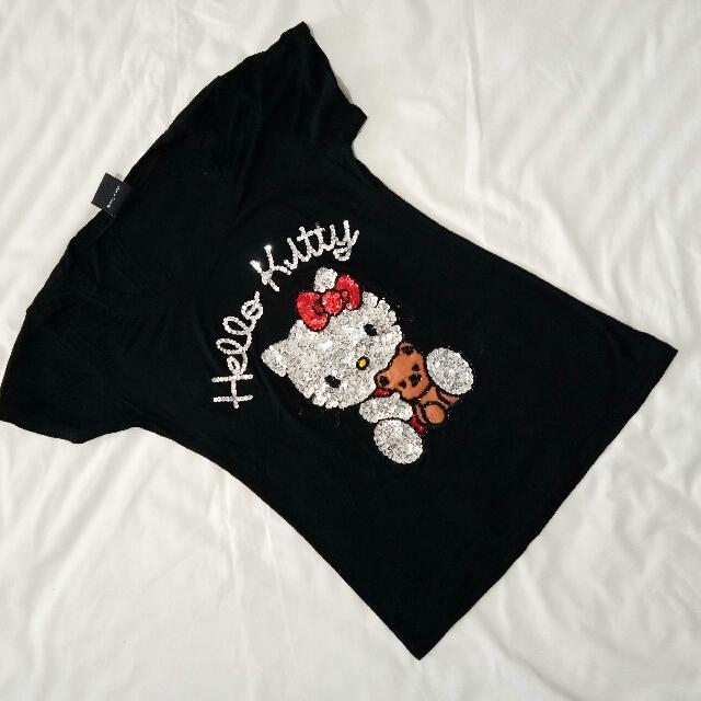 Hello Kitty Sequenced Shirt From Bangkok