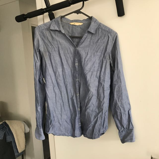 H&M denim colour shirt