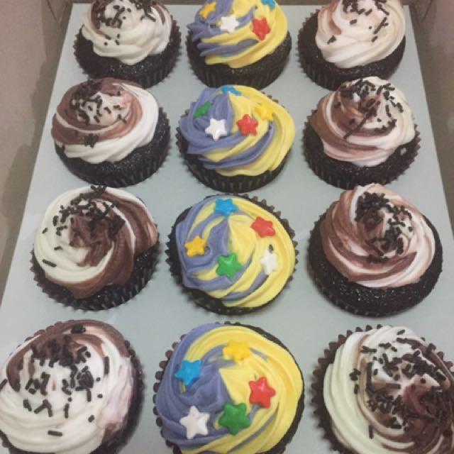 Homemade Freshly Baked Cupcakes