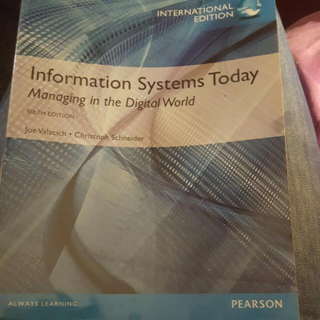 Information systems today managing in the digital world sixth photo photo photo photo fandeluxe Images