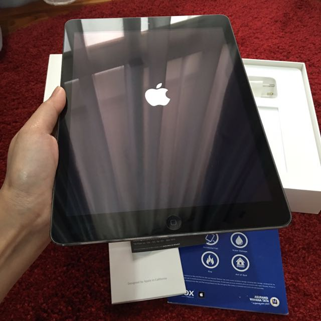 Ipad Air 64Gb Wifi Space Grey_Second Pribadi