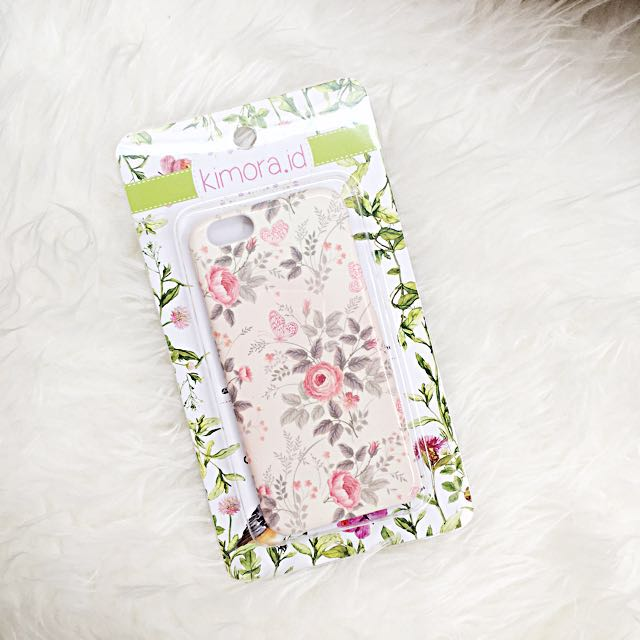 Iphone 6 6s soft casing hp flower