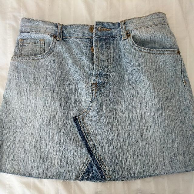 F21 Jean Skirt