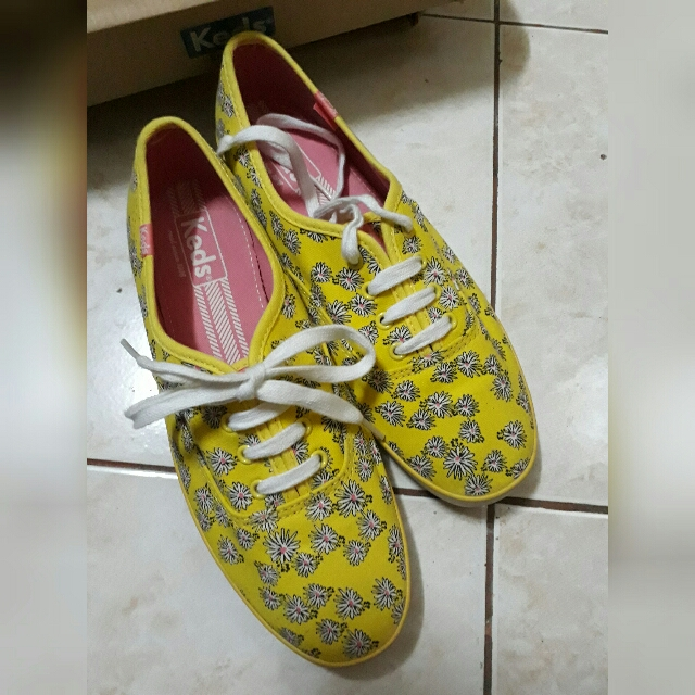 Keds Floral Yellow