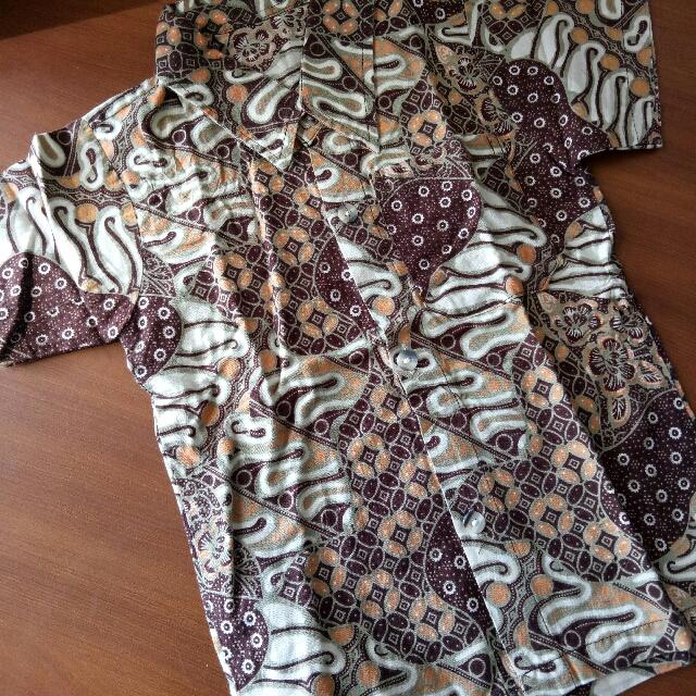 Kemeja Batik Anak Laki-laki