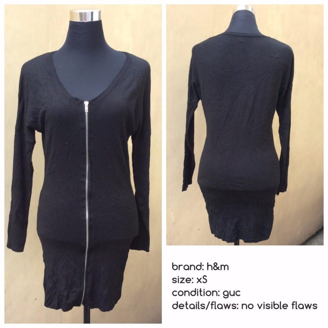 Knitted Mini Dress/Cardigan
