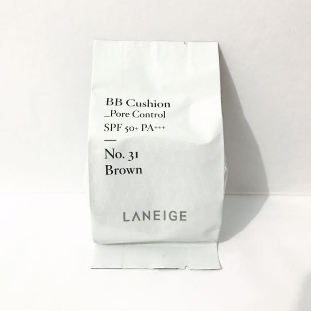 Laneige Bb Cushion Pore Control Refill Shade 31 Brown Health