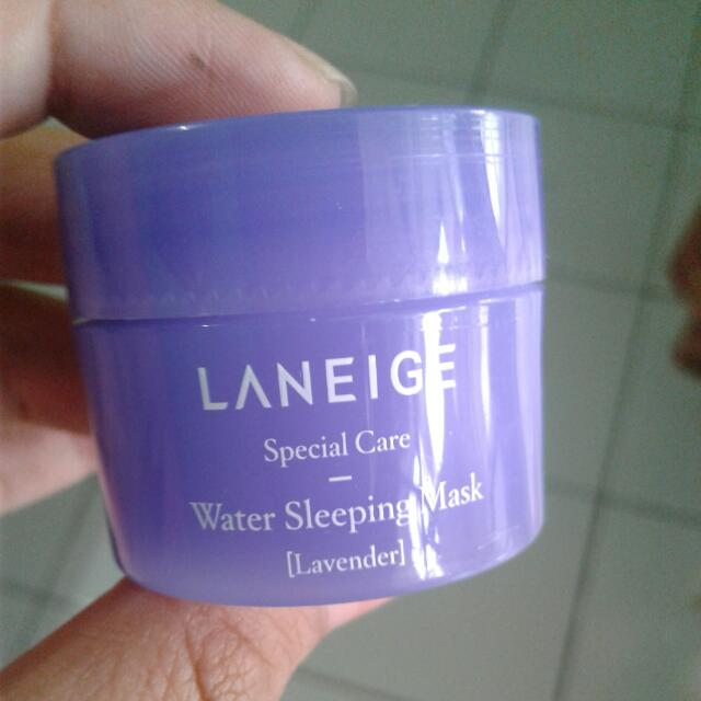 Laneige Water Sleeping Mask Lavended