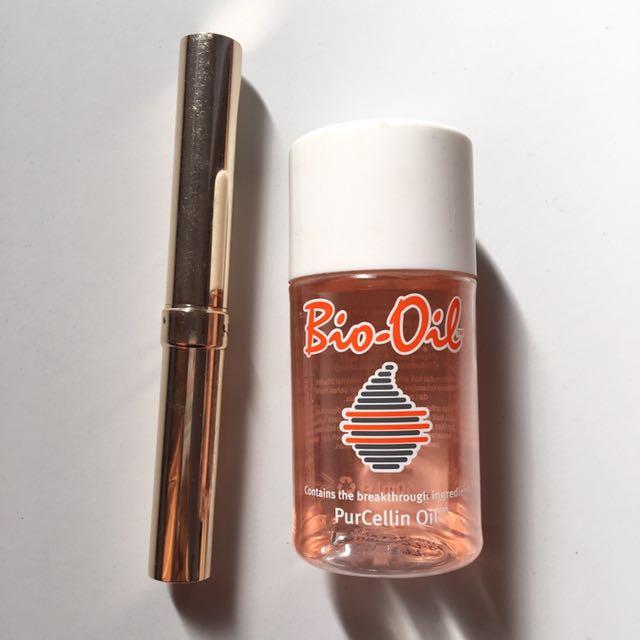 Lipstick Revlon (Malt 08) & Bio Oil