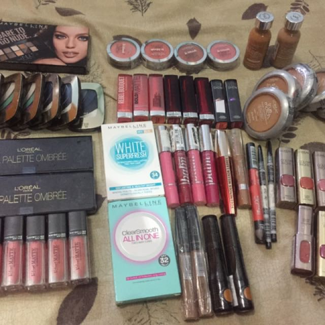 L'Oreal and Maybelline Makeup (AUTHENTIC)