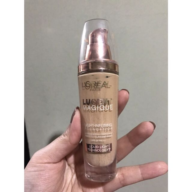 LOREAL LUCENT MAGIQUE LIQUID FOUNDATION SHADE N5 Pure Honey
