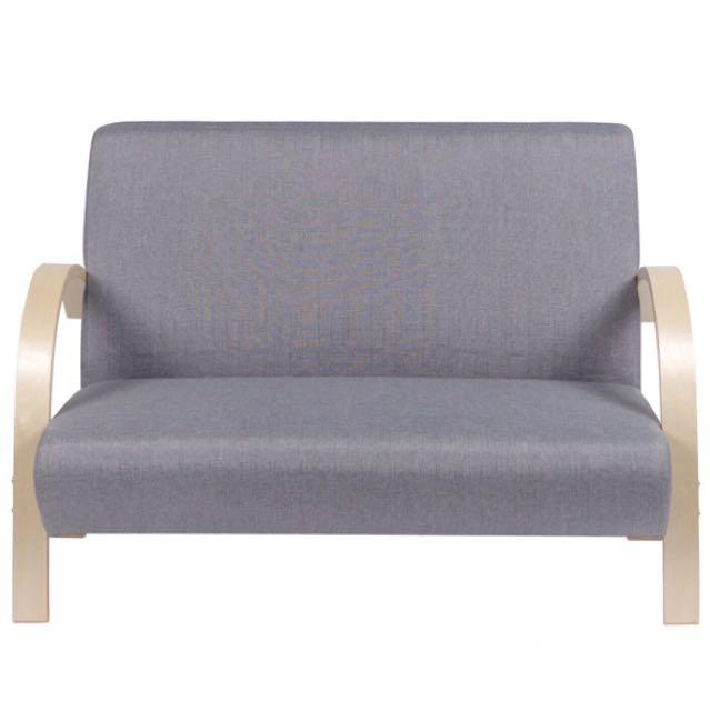 Low Price Mizuki 2 Seater Sofa In Mint