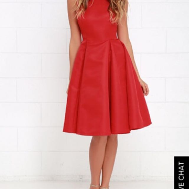 LULUS Red Dress. Size small