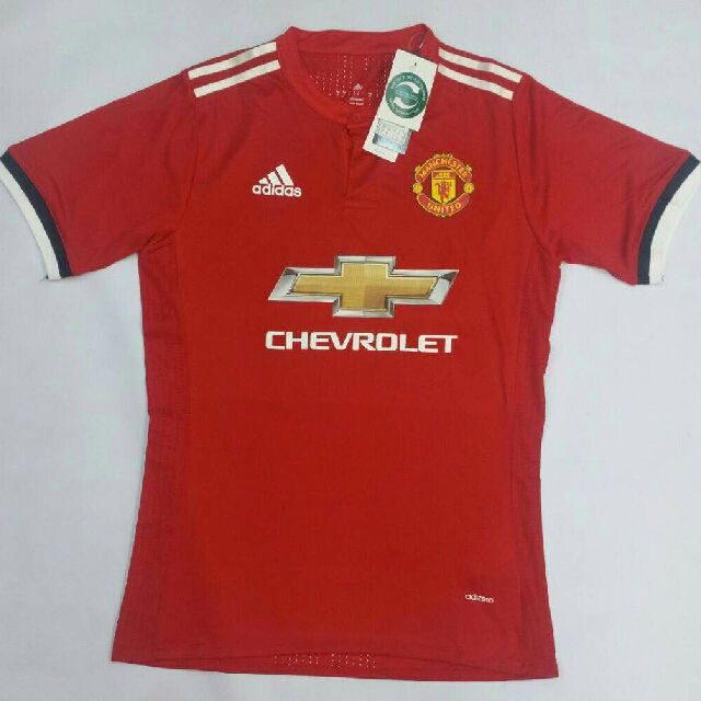 official photos 5dc82 a9293 Manchester United Home & Away Kit 2017/18 AAA Quality SIZE 2XL To 5XL (Very  Limited)