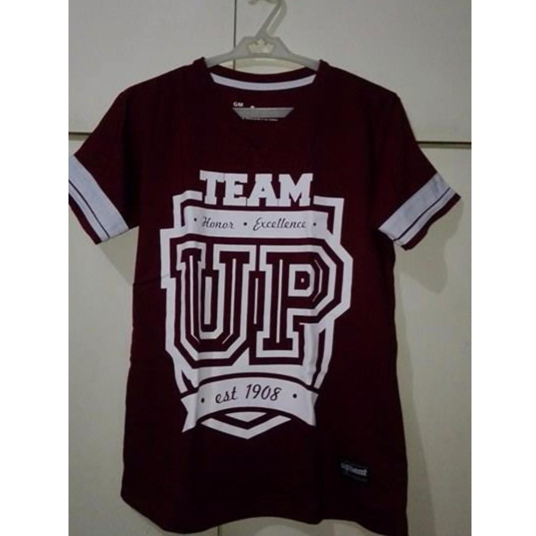 Maroon Upbeat UP Shirt