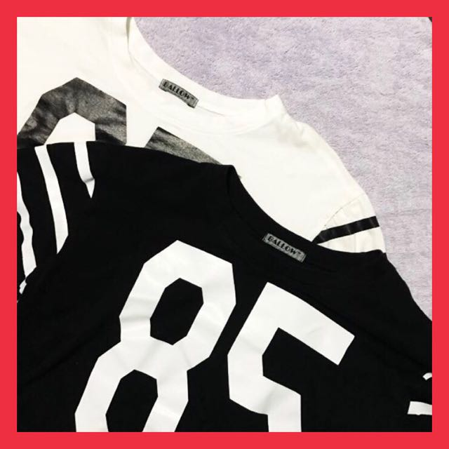 """Matching """"85"""" Jersey Cropped Top"""