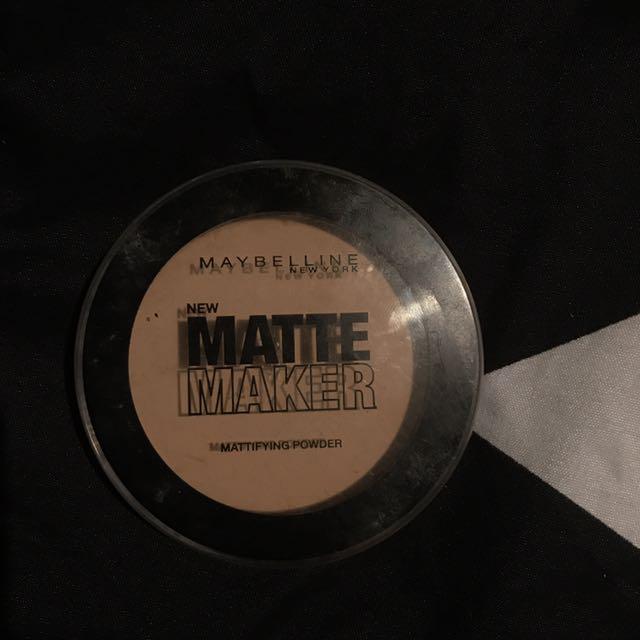 Maybelline Matte Powder