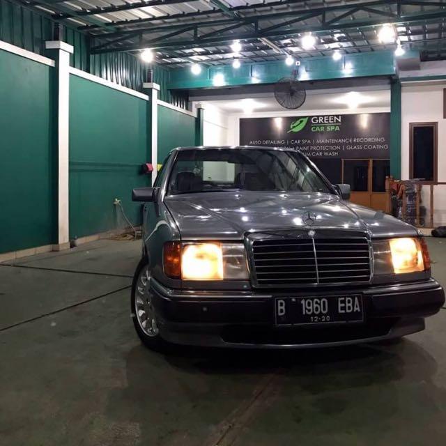 Mercy Boxer W124 230E 1991 Build Up