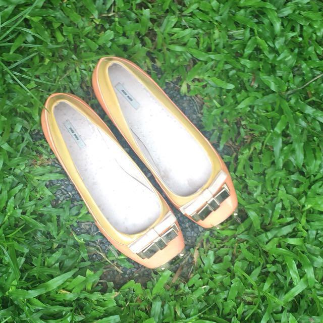 Miu Miu Flat Shoes