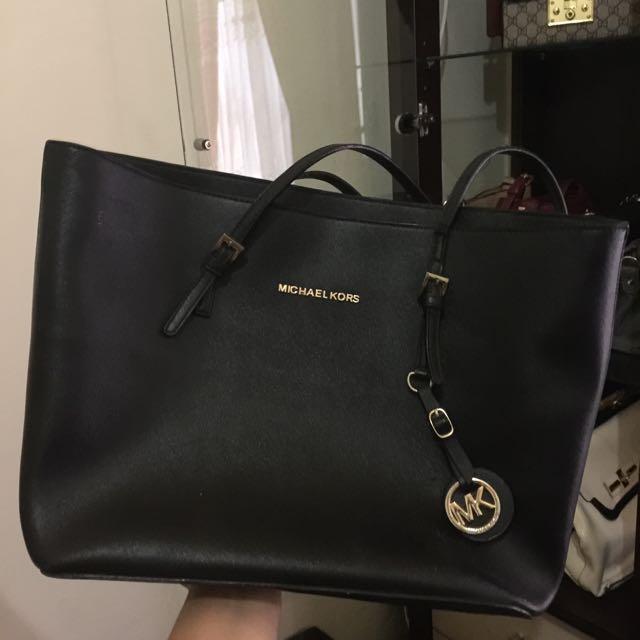 Mk Bag Black