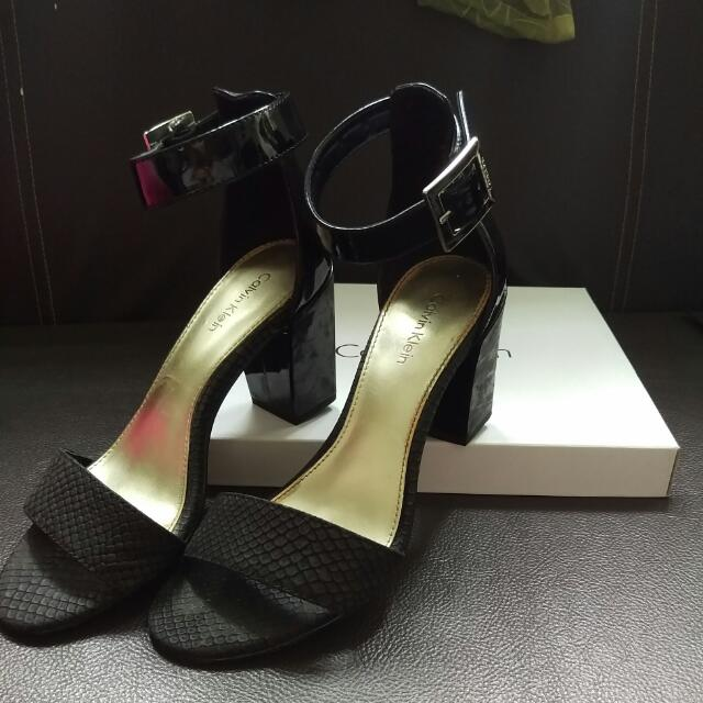 MOVING OUT SALE - Calvin Klein Block Heels