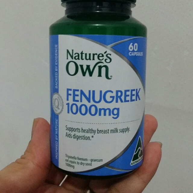 Nature's Own Fenugreek 1000mg