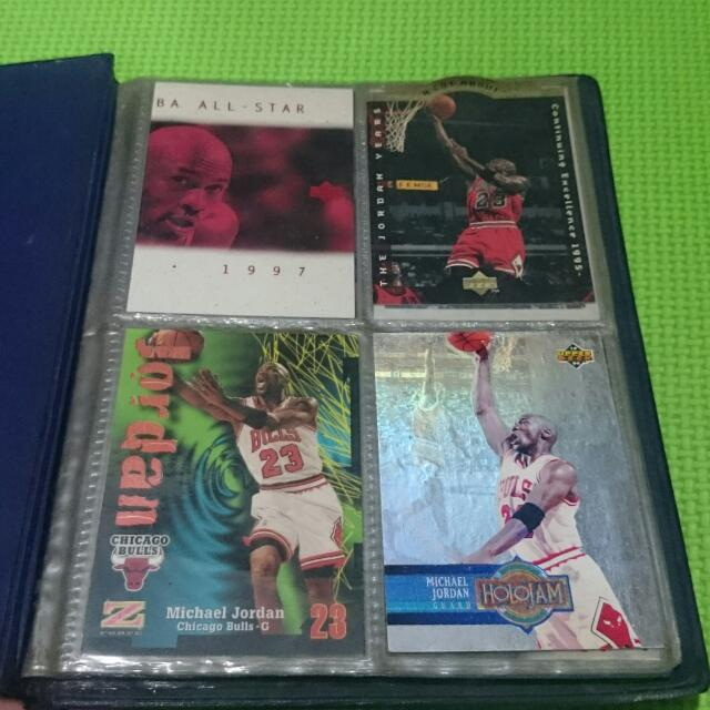 NBA Cards Collection  (Upper Deck, Skybox, Topps, Fleer)