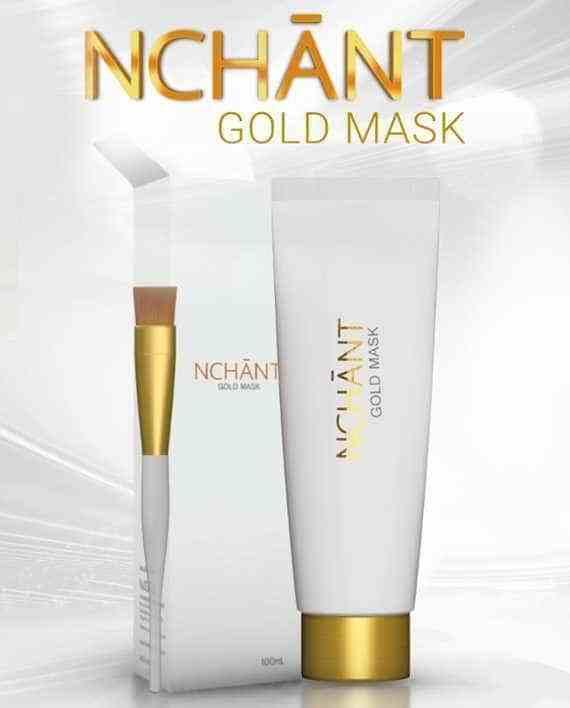 NCHANT GOLD MASK