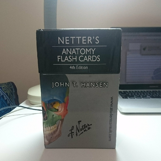 Netters Anatomy Flash Cards 4th Ed Books Magazines Others On