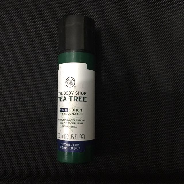 Night Lotion The Body Shop