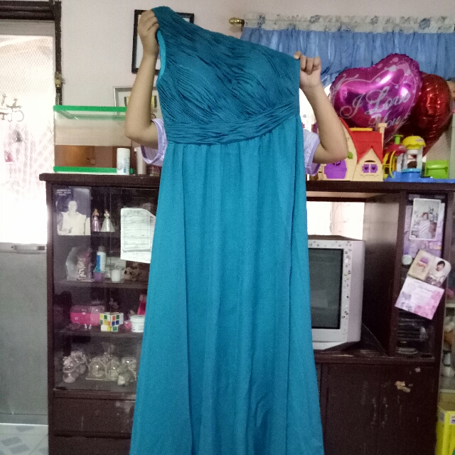 One Shoulder Long Gown