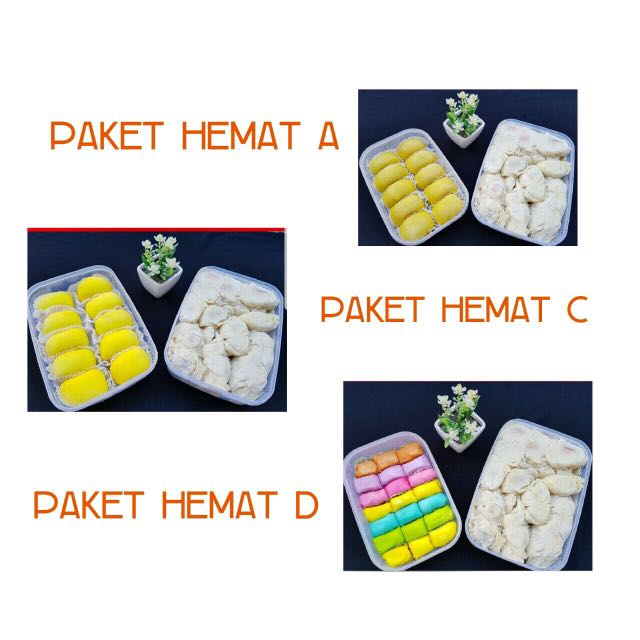 Paket hemat durian