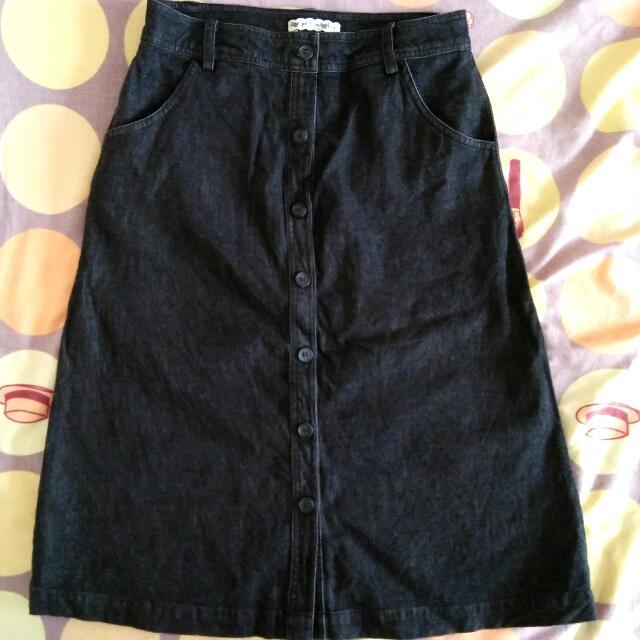 Paperdoll & Co. Denim Skirt
