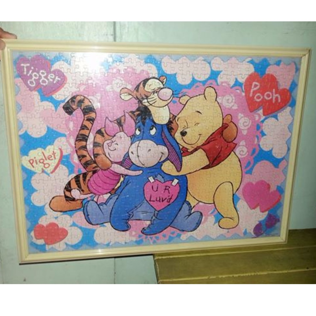POOH Puzzle w/frame