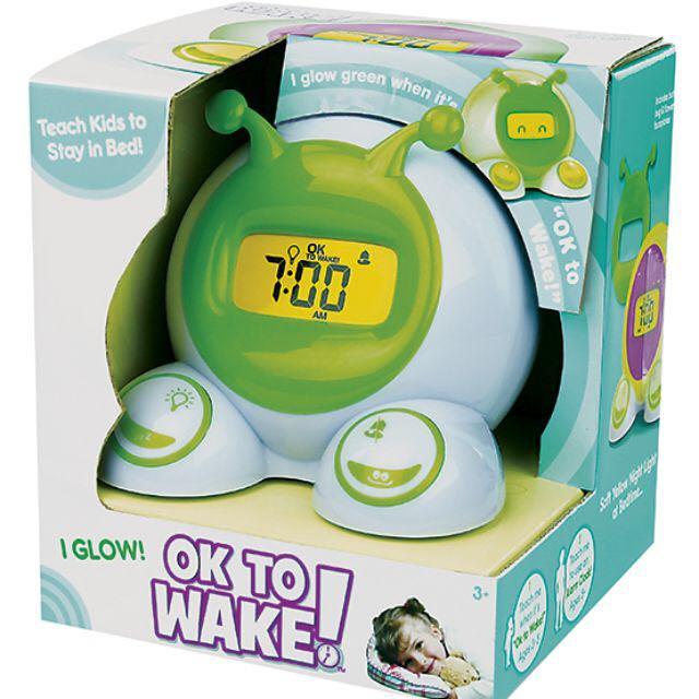 RECEIVED Ok to Wake! Clocks (Alarm and Nightlight)