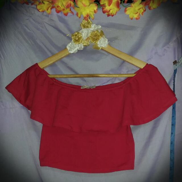 Red CropTop (RePrice)
