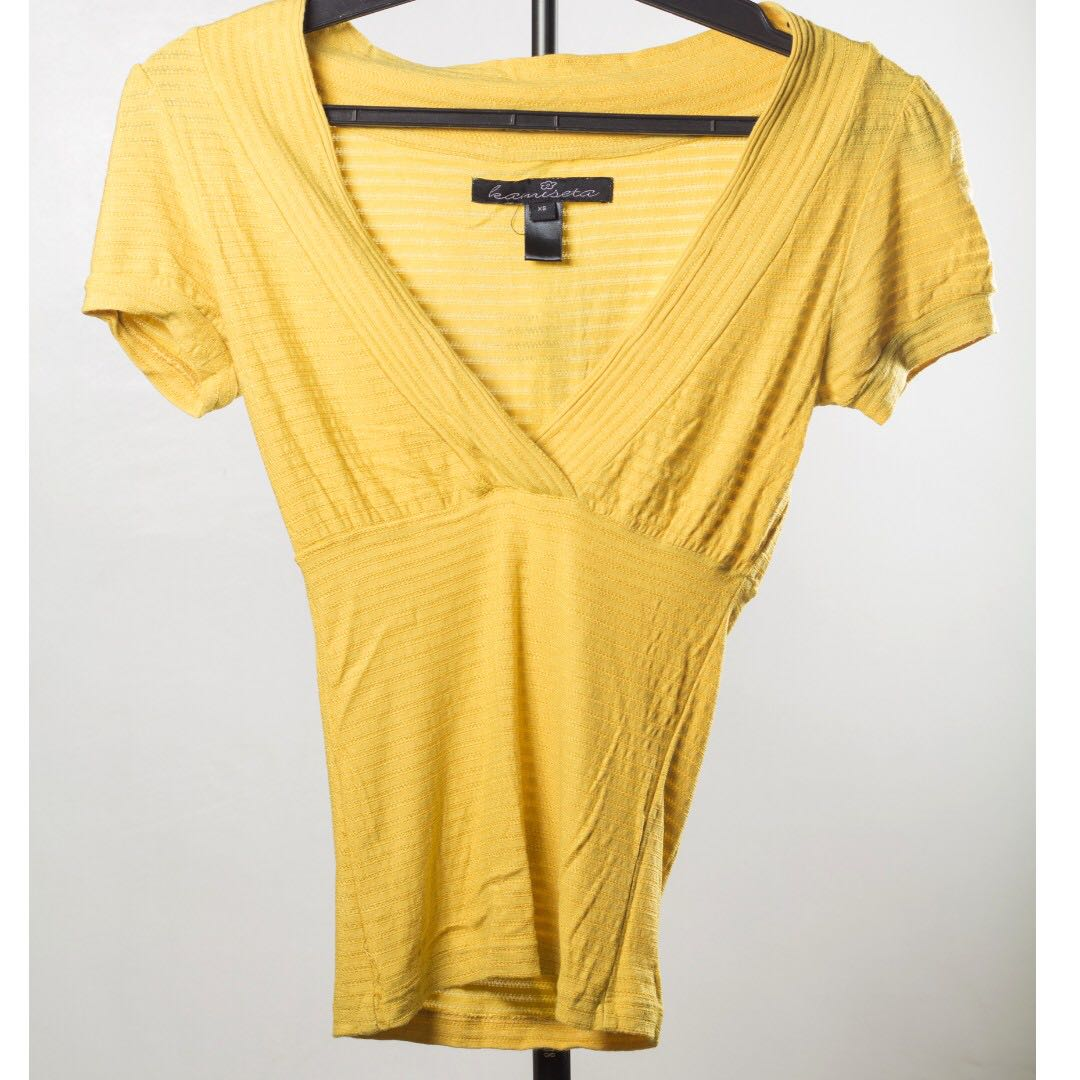 REPRICED Kamiseta Yellow Sexy Blouse