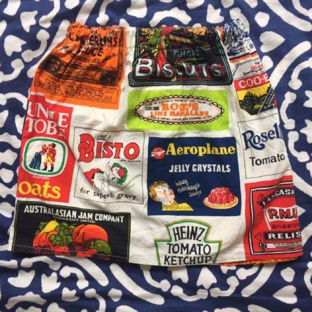 Retro Australian Product Skirt