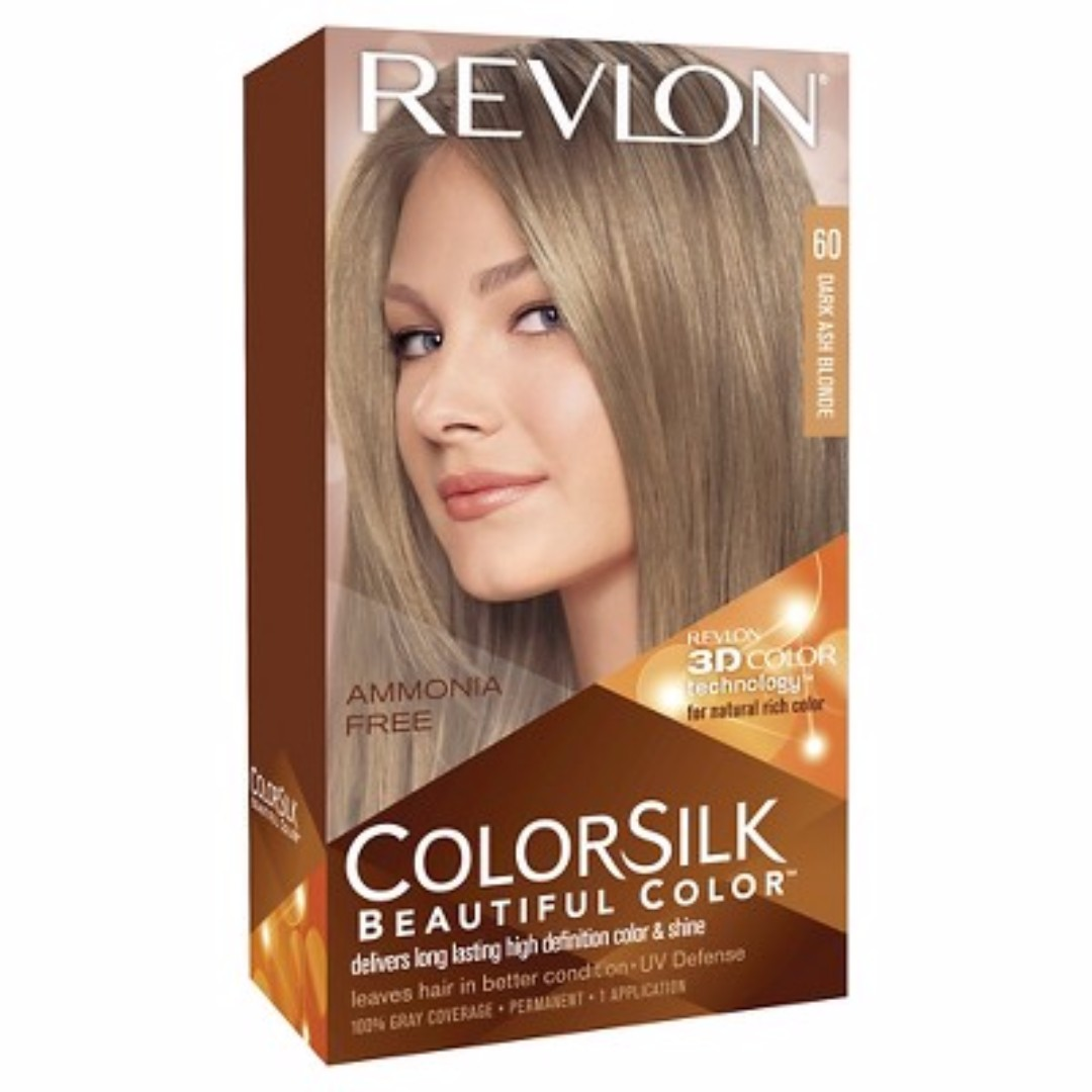 REVLON HAIR COLOR SILK (DARK ASH BLONDE)
