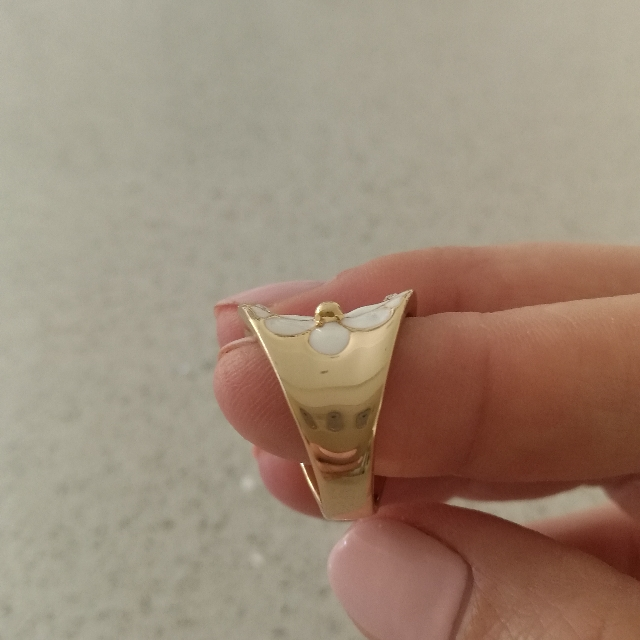 Ring, Gold Colour