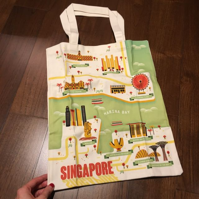 Singapore Shopping Bag