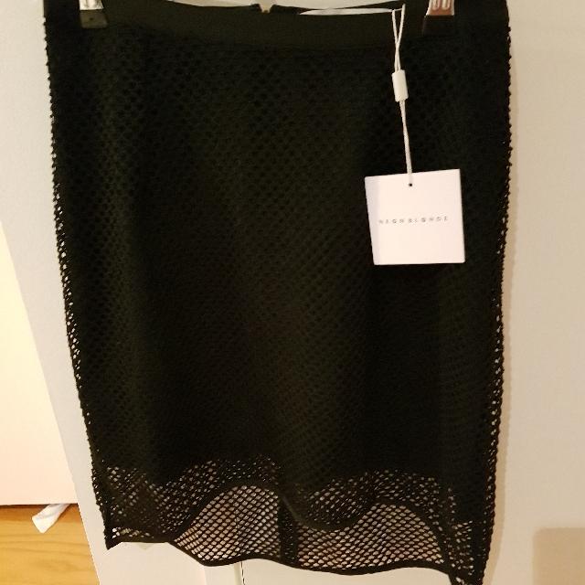 Skirt Mesh Over Lay